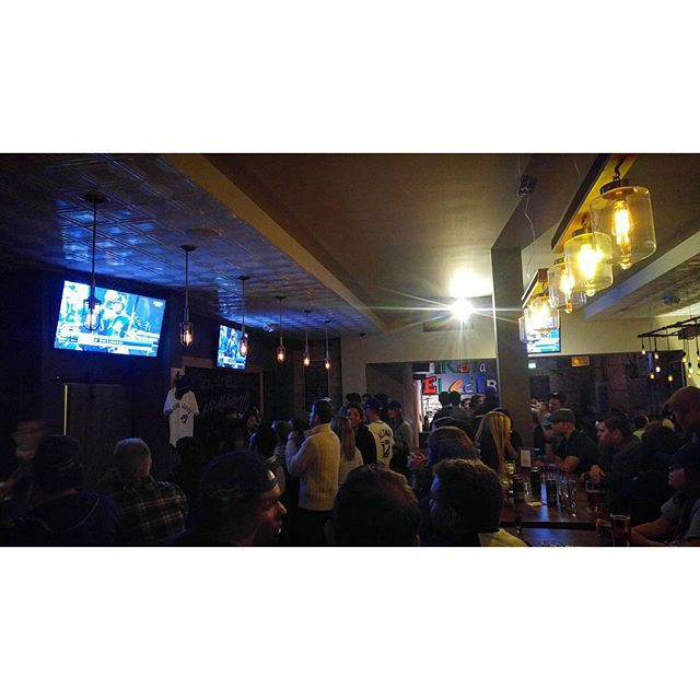 Crowd watching the game at Royal Electric Guelph